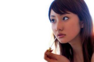 face women asian model
