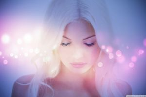 face women model magic blonde