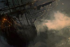 fantasy art darek zabrocki  ship