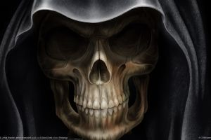 fantasy art death spooky grim reaper