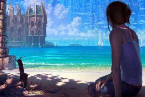 fantasy art fantasy city cgi