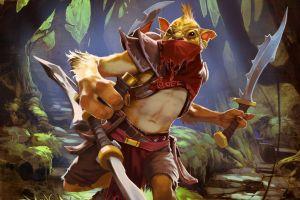 fantasy art warrior dota 2 bounty hunter (dota2) video games creature pc gaming