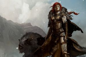 fantasy girl video games fantasy art guild wars 2