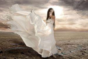 fantasy girl women dress fantasy art
