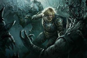 fantasy men battle 2013 (year) fantasy art darek zabrocki