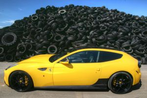 ferrari ff ferrari vehicle tires car yellow cars