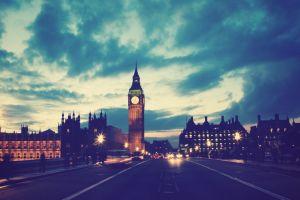 filter photography big ben sky london city lights
