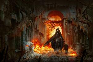 fire fantasy art deviantart