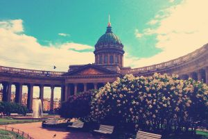 flowers russia architecture