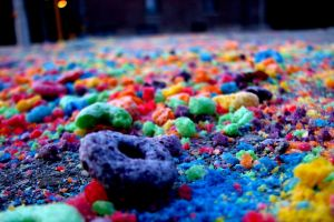 food fruit loops cereal colorful