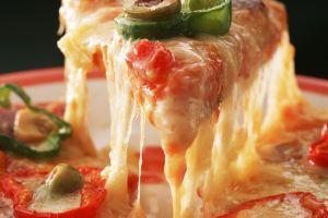 food olives pizza