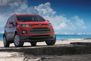 ford ecosport car ford red cars vehicle
