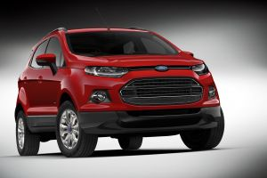 ford ford ecosport car vehicle red cars