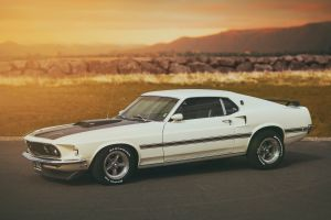 ford ford mustang car classic car