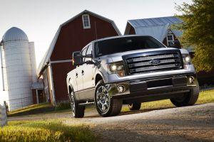 ford vehicle ford f-150 pickup trucks car farm
