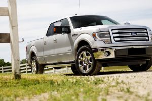 ford vehicle pickup trucks ford f-150 car silver cars