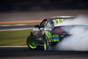 ford vehicle racing race cars smoke car