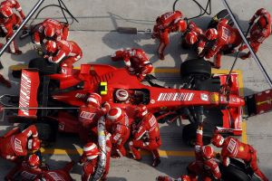 formula 1 sport  pit stop red car race cars vehicle sports
