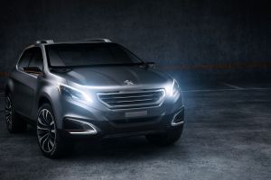 french cars car peugeot urban crossover concept cars vehicle