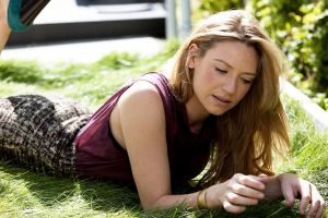 fringe (tv series) women anna torv women outdoors blonde grass actress