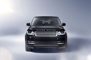 frontal view car range rover