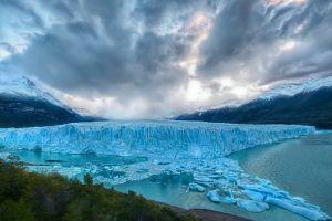 frost glaciers nature landscape ice