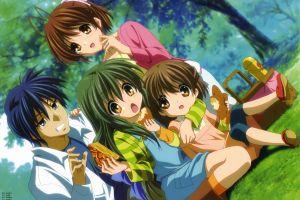 furukawa nagisa anime girls ibuki fuko clannad anime ushio okazaki tomoya okazaki