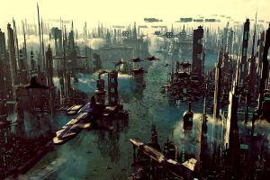 futuristic city deviantart futuristic city
