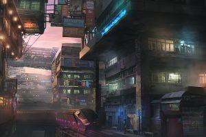 futuristic city signs futuristic lantern train