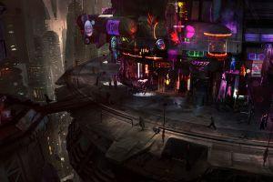 futuristic city steampunk cyberpunk futuristic science fiction star wars