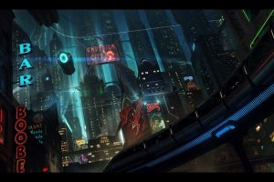 futuristic cityscape digital art futuristic city