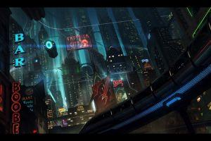 futuristic cityscape digital art futuristic city
