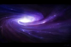 galaxy digital art space space art spiral galaxy
