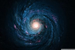 galaxy universe stars digital art space