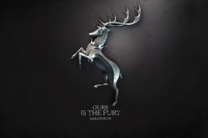 game of thrones a song of ice and fire house baratheon digital art sigils