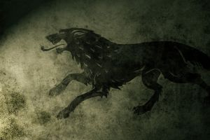 game of thrones house stark grunge