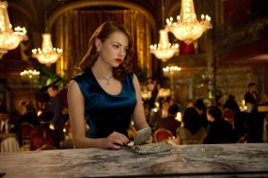 gangster squad emma stone actress women necklace movies