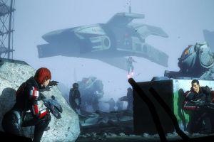 garrus vakarian artwork javik science fiction mass effect 3 digital art mass effect commander shepard mass effect 2 video games jane shepard cerberus  ashley williams