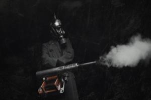 gas masks soldier world war i helmet