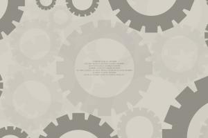 gears minimalism digital art