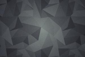 geometry abstract low poly gray minimalism digital art polygon art