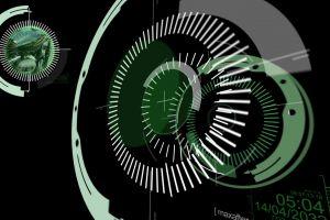 geometry numbers artwork digital art lines sphere minimalism circle black background