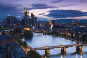 germany frankfurt cityscape