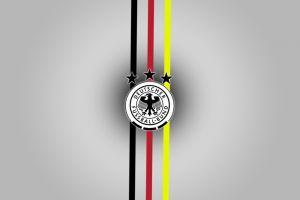 germany logo soccer text