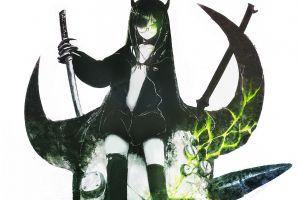 glasses anime anime girls sword
