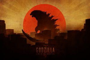 godzilla film posters skyline artwork japan