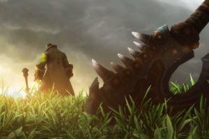 gorehowl world of warcraft world of warcraft: warlords of draenor video games horde garrosh helscream thrall