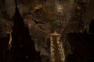 gotham city batman movies batman begins dark
