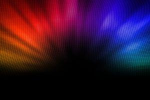 gradient digital art colorful