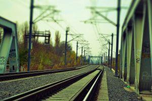 graffiti railway urban